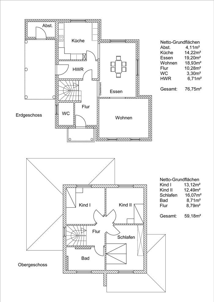 Grundrissplan Variante 16
